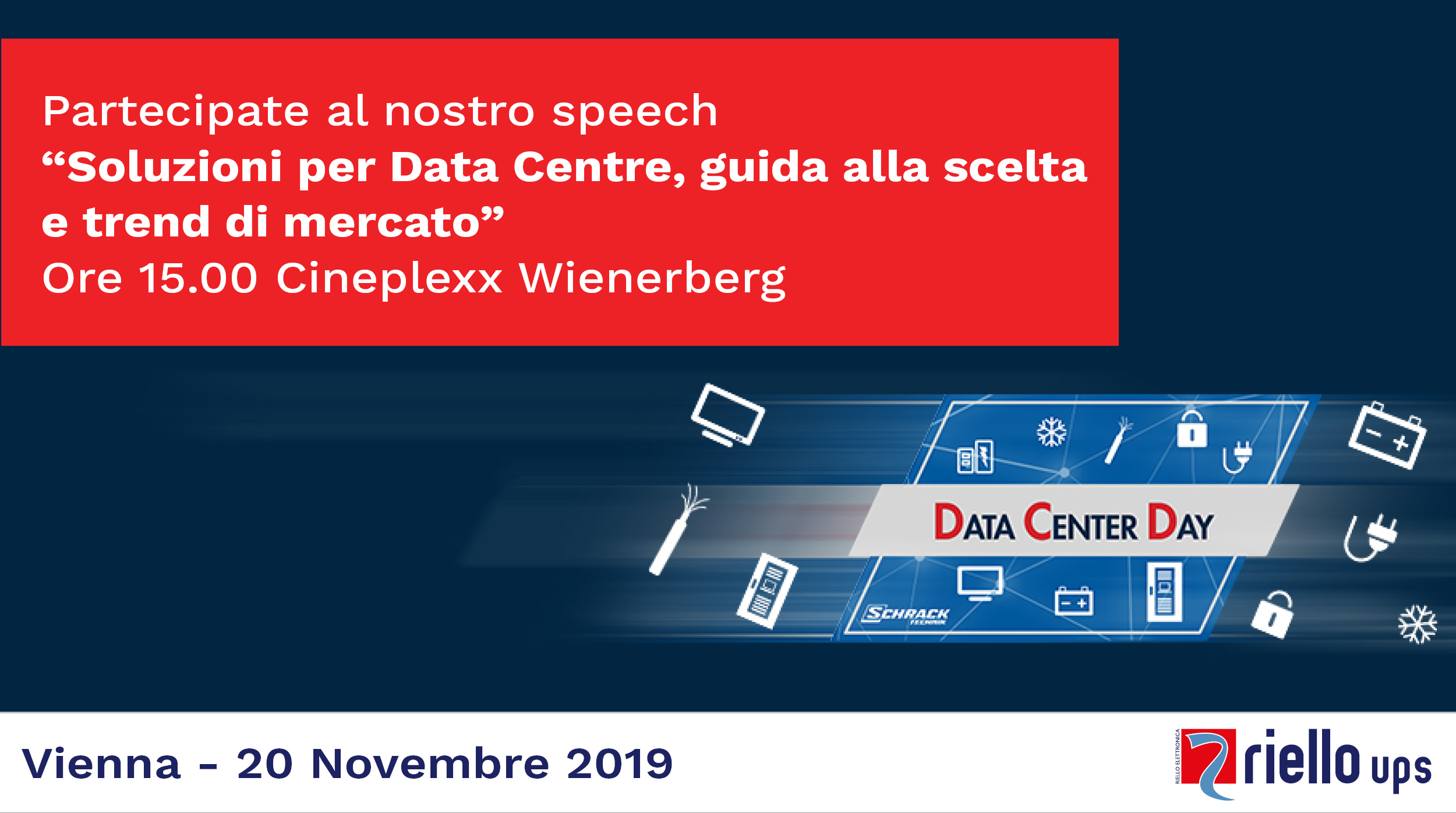 Data Center Day Vienna 20/11/2019